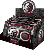 INDIANA Jerky hovězí, Peppered, 500g - display