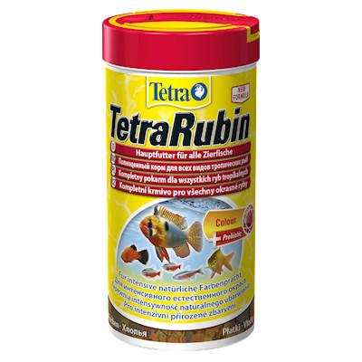 Tetra Rubin vločkové krmivo pro zvýraznění barevnosti ryb 250 ml