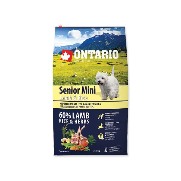 ONTARIO Senior Mini Lamb   Rice 0 accdcaa535