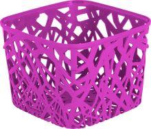 Curver košík čtvercový, NEO, fialový