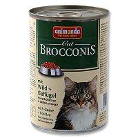 Animonda Brocconis Konzerva - zvěřina & drůbež pro dospělé kočky 400 g