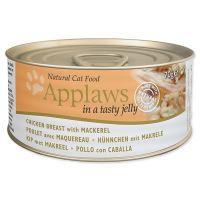 Konzerva APPLAWS Cat Jelly Chicken & Mackerel 70 g