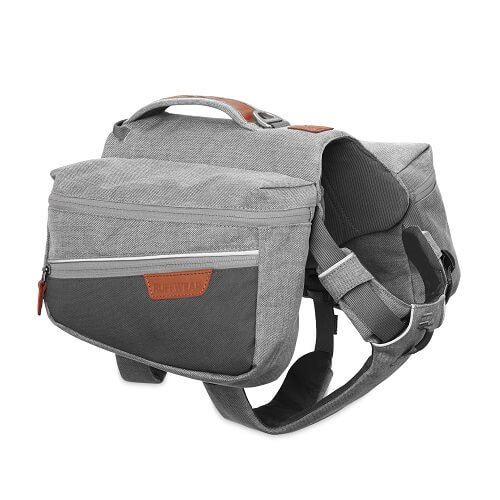 Ruffwear batoh pro psy, Commuter Pack, šedý, velikost XS