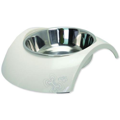 Rogz miska pes nerez/plast Luna 2v1 smetanová 350 ml