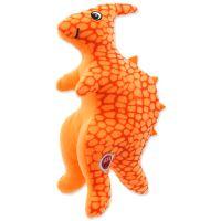 Hračka LET`S PLAY dinosaurus oranžový 25 cm