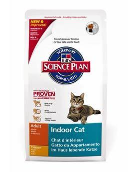 Hill's Feline Dry Indoor - pro kočky žijící v bytě