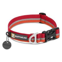 Ruffwear obojek pro psy Crag collar, červený, velikost 51 - 66cm