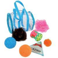 Zolux sada hraček pro kočky, 7 kusů