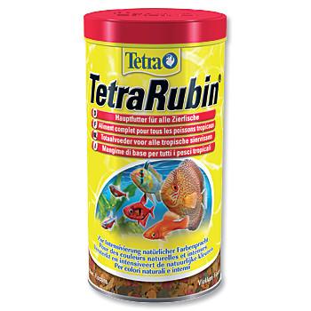 Tetra Rubin vločkové krmivo pro zvýraznění barevnosti ryb 1 l