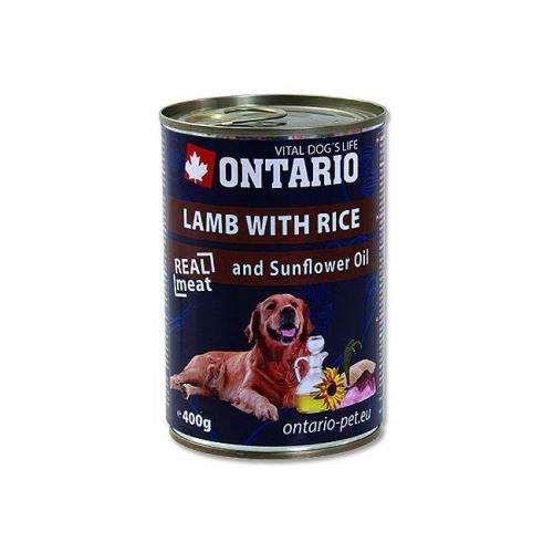 Ontario Lamb, Rice, Sunflower Oil konzerva