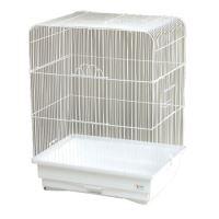 Klec BIRD JEWEL K2 bílá 45,5 x 33,5 x 59,5 cm