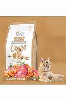 Brit Care Cat Cocco I`am Gourmand - kachna & losos pro vybíravé kočky 2 kg