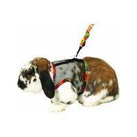 Postroj králík nylon s vod.celotělový Karlie vel. L