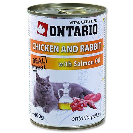 Ontario Chicken, Rabbit, Salmon oil 400 g
