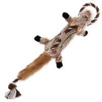 Hračka DOG FANTASY Skinneeez s provazem čipmank 57,5 cm