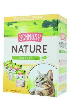 Schmusy Nature Menu kapsička - multipack 1200 g
