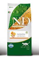 N&D Grain Free Cat Adult Fish & Orange 10 kg