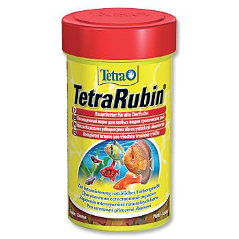 Tetra Rubin vločkové krmivo pro zvýraznění barevnosti ryb 100 ml