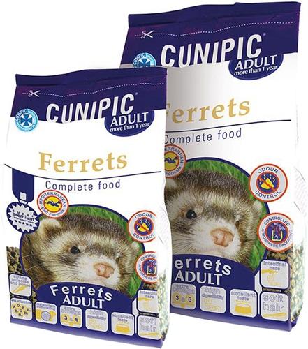 Cunipic Ferrets Adult Krmivo pro dospělé fretky 600 g
