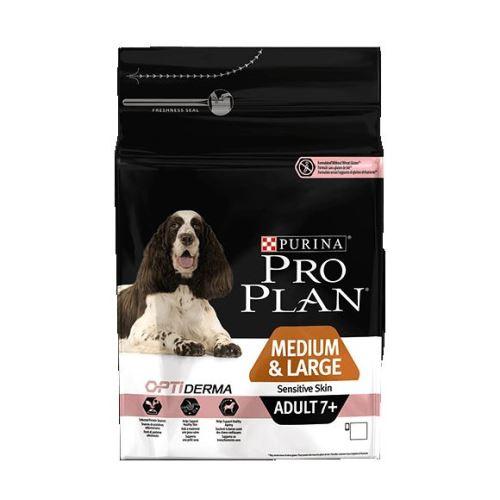 pro plan dog adult 7 medium large sens skin 3kg