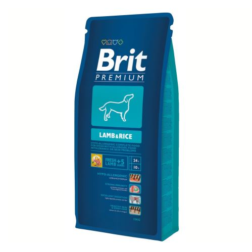 Brit Premium Lamb & rice  8 kg