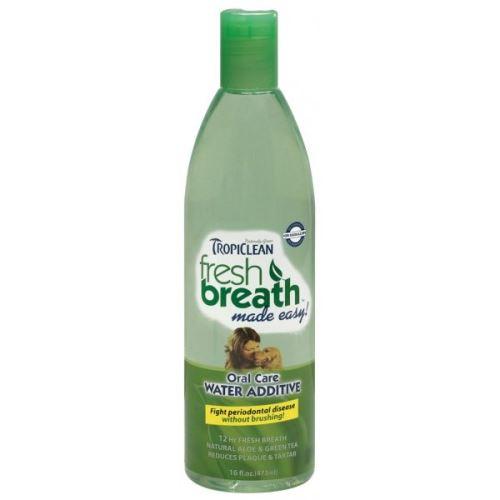 Tropiclean Oral Care Water Additive Roztok do vody pro zdravé zuby a svěží dech pro psy