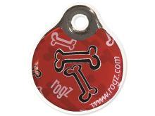 Známka ROGZ ID Tagz Red Bone L