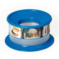 Nerozlitelná miska pro psy Argi - modrá - 22 x 12 cm