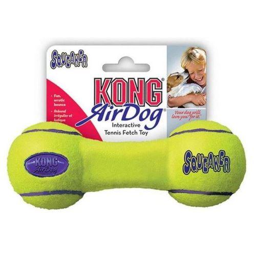 Kong Air Dog Tenis Činka pískací hračka pro psy vhodná pro aport - velikost S