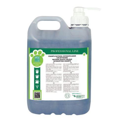 Menforsan Šampon pro zvýraznění černé srsti pro psy 5000 ml