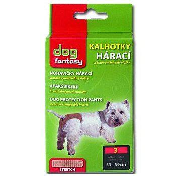 Dog Fantasy kalhotky hárací béžové - velikost XL