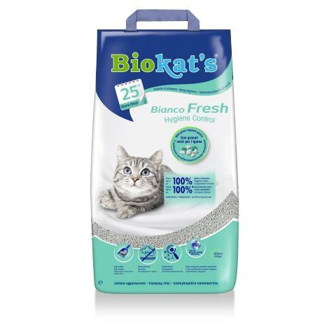 Gimpet Biokats Bianco Fresh podestýlka