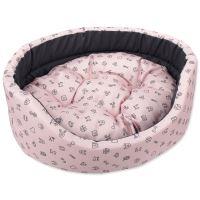 Pelech DOG FANTASY oval piktogram mix růžový 75 cm 1ks