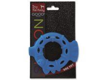 Dog Fantasy silikonový kroužek světle modrý 10 cm