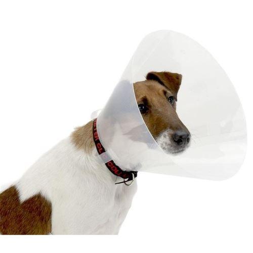 Kruuse Buster Clic Collar Plastový ochranný límec pro psy