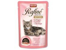 Animonda Rafine Soupe Kitten Kapsička - drůbež & krevety pro koťata 100 g