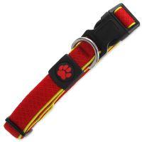 Obojek ACTIV DOG Fluffy Reflective červený M 1ks