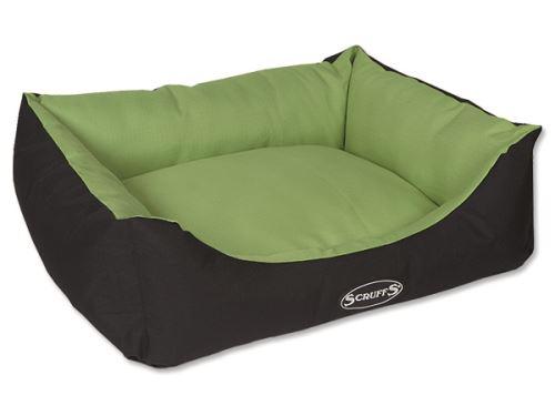Scruffs Expedition Box Bed pelech pro psy limetkový - velikost M