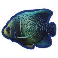 Hračka DOG FANTASY textilní ryba modrá