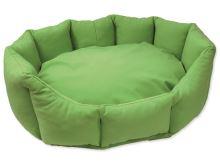 Pelíšek DOG FANTASY Koruna softshell zelený 70 cm