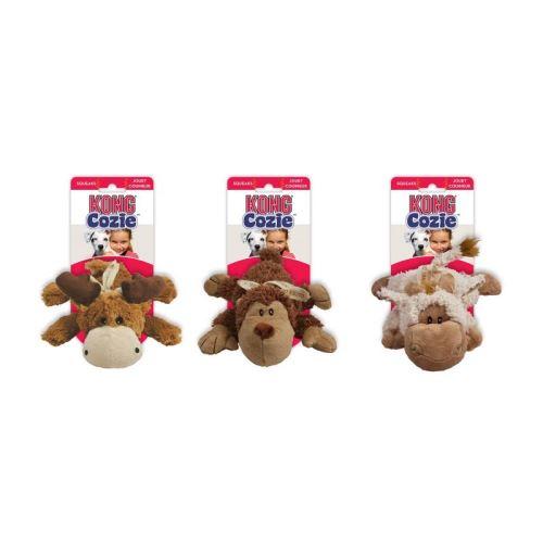 Kong Cozie Naturals Odolná plyšová hračka