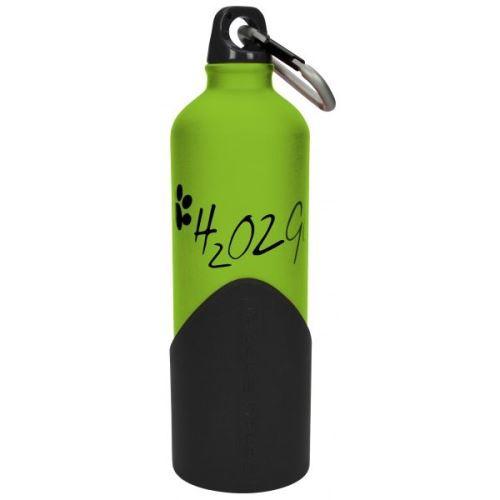 H2o2go Cestovní lahev na vodu zelená 750 ml