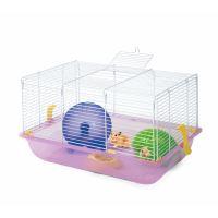 Klec pro křečky Argi 45 x 30,5 x 29 cm - fialová