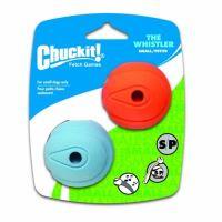 Chuckit! Whistler svištící aportovací míčky - velikost S, 5 cm, 2 ks