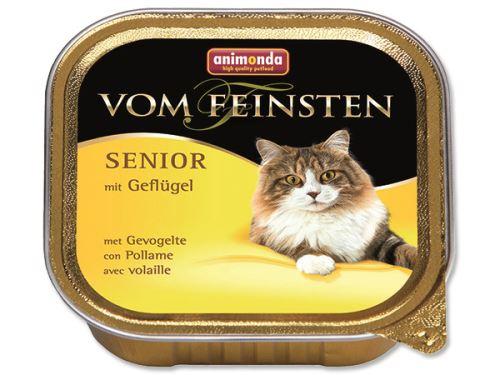 Animonda Vom Feinsten Senior Paštika - drůbeží pro kočky od 7 let 100 g