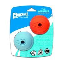 Chuckit! Whistler svištící aportovací míčky - velikost M, 6,5 cm, 2 ks