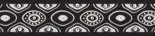 Red Dingo Obojek polos. 25 mm x 41-62 cm - Snake Eyes Black