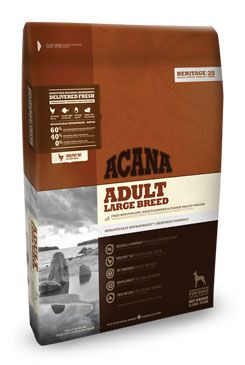 Acana Dog Adult Large Breed Heritage 17kg