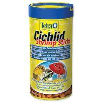 Tetra Cichlid Shrimp Sticks krmivo s krevetami pro masožravé ryby 250 ml