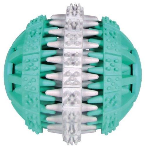 Trixie Dentafun Míč s mátou zeleno-bílý